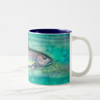 De Mok van de Kunst van de Vissen van de Forel van
