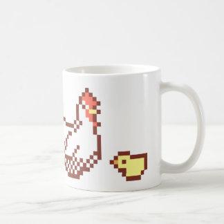 De Mok van de Kunst van het Pixel van de kip en