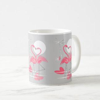 De mok van de Lijn van de Liefde van de flamingo
