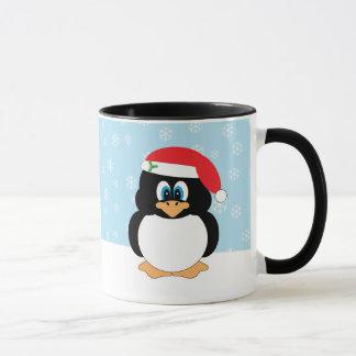 De Mok van de Pinguïn van Kerstmis