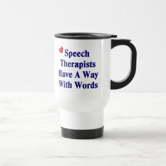 De Mok van de Therapeut van de toespraak