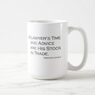 De Mok van de Tijd en van de Raad van een Advocaat