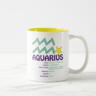 De Mok van de Trekken van Waterman Tweekleurige Koffiemok