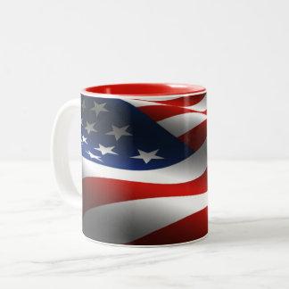 De Mok van de Vlag van de V.S. van sterren & van