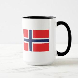 De Mok van de Vlag van Noorwegen
