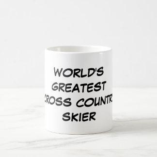 """De Mok van de wereld van de Grootste Dwars """"Skiër"""