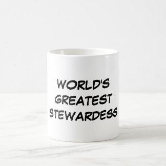 """De Mok van de wereld van de Grootste """"Stewardess"""""""