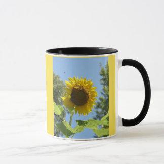 De Mok van de Zonnebloem van de goedemorgen
