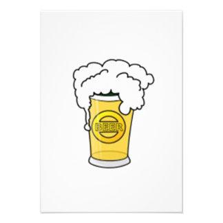 De Mok van het bier Persoonlijke Aankondiging