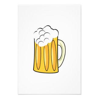De Mok van het bier Persoonlijke Aankondigingen