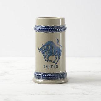 De Mok van het Bier van de Horoscoop van de Stier