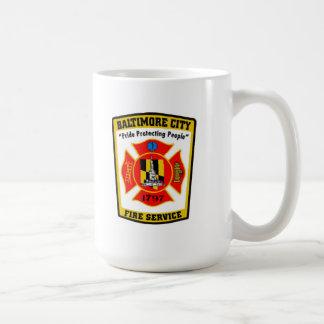 De Mok van het Brandweerkorps van de Stad van