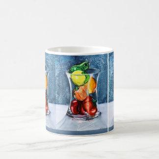 De Mok van het Fruit van het glas