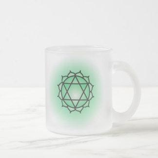 De Mok van het Glas van Chakra van het hart