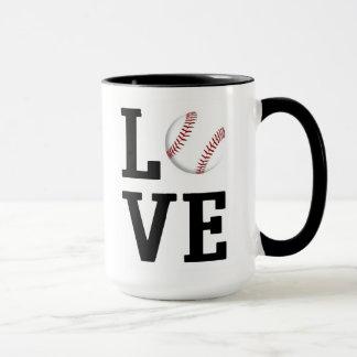 De Mok van het Honkbal van de liefde