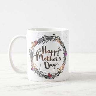 De Mok van het moederdag met het Bericht van de