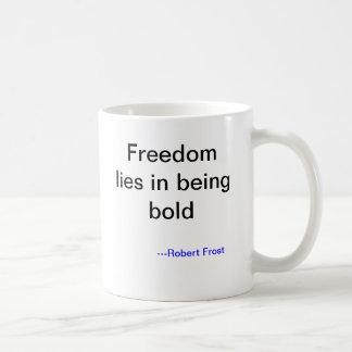 De Mok van het Nemen van risico's van Robert Frost