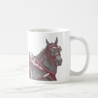 De Mok van het Paard van Percheron