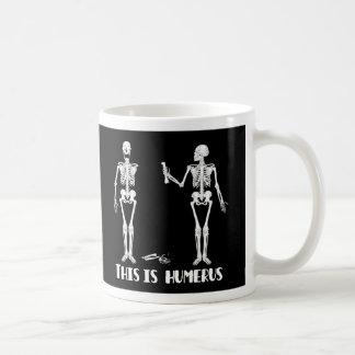 De Mok van het skelet - Gekke Humoristische