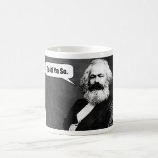 De mok van Karl Marx