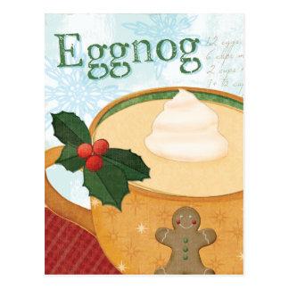 De Mok van Kerstmis met Eierpunch Briefkaart