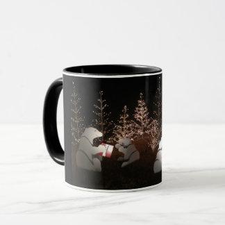 De Mok van Kerstmis van de Ijsbeer