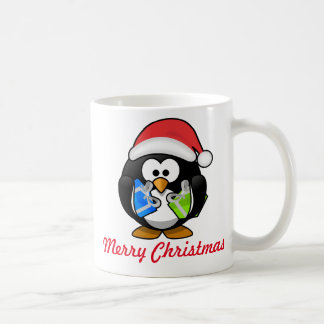 De Mok van Kerstmis van de pinguïn
