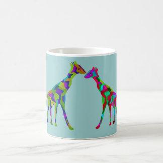 De Mok van Luv van de giraf Koffiemok
