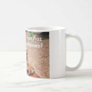 De Mok van Mooki lolcat, kan ik haz caffeinez?