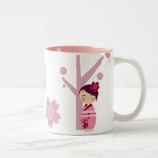 De Mok van Sakura van Kokeshi