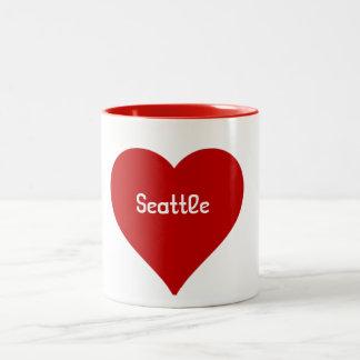 De Mok van Seattle van het hart