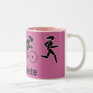 De Mok van Triathlete van de vrouw