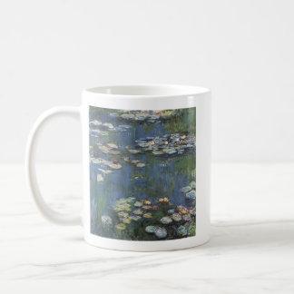 De mok van Waterlillies van Monet