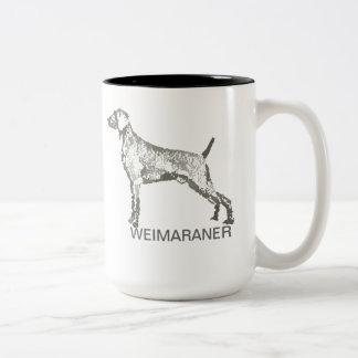 De Mok van Weimaraner