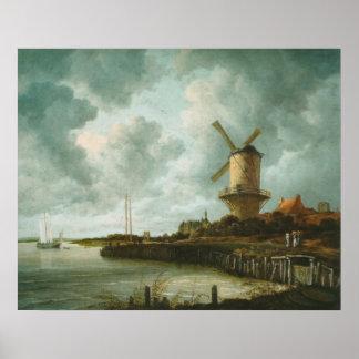 De molen bij Poster wijk-bij-Duurstede