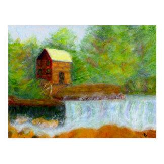De molen van de Korrel, Briefkaart