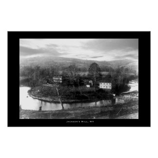 De Molen van Jackson, West-Virginia Poster