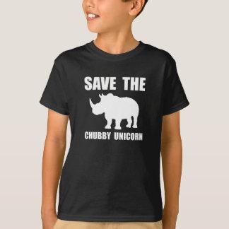 De mollige Rinoceros van de Eenhoorn T Shirt