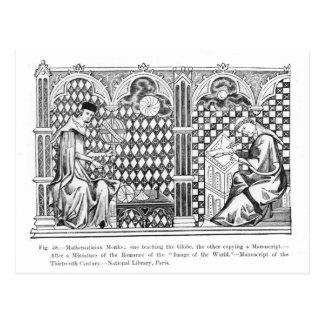 De Monniken van de wiskundige: het één onderwijs Briefkaart