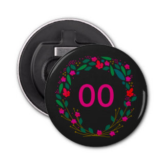 De Mooie 18de 21ste 30ste 40ste 50ste Verjaardag Button Flessenopener