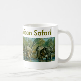 De mooie Afrikaanse Mok van de Safari