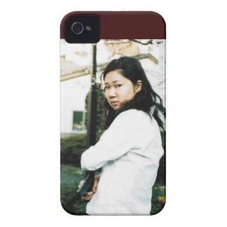De mooie Aziatische Vrouw van de Actie iPhone 4 Case