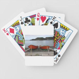 De mooie Boten van Newfoundland Poker Kaarten