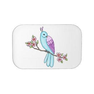 De mooie Doos van de Lunch van de Vogel Lunchbox
