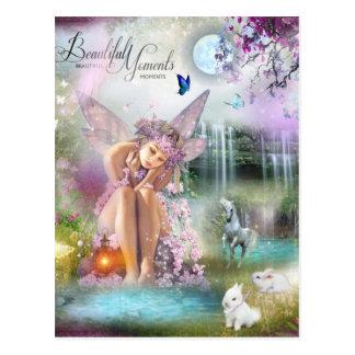 De mooie Fee van Ogenblikken Briefkaart