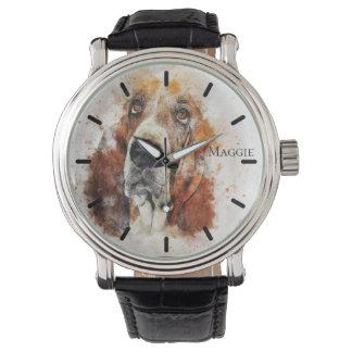 De mooie Gepersonaliseerde Douane van het Golden Horloges