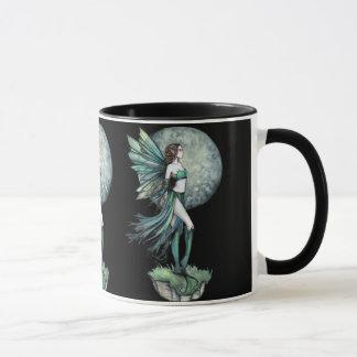 De mooie Groene Mok van de Koffie van de Fee van