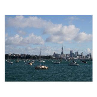 De mooie Horizon van Auckland Briefkaart