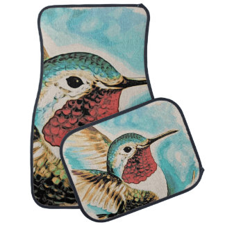 De mooie Kolibrie van Costa Auto Vloermat