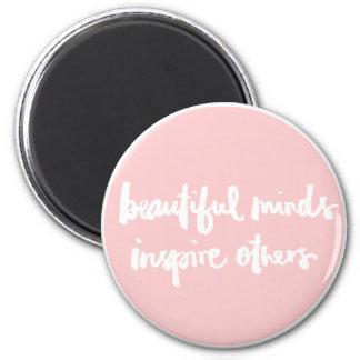 De mooie meningen inspireren mensen Inspirerend Magneet